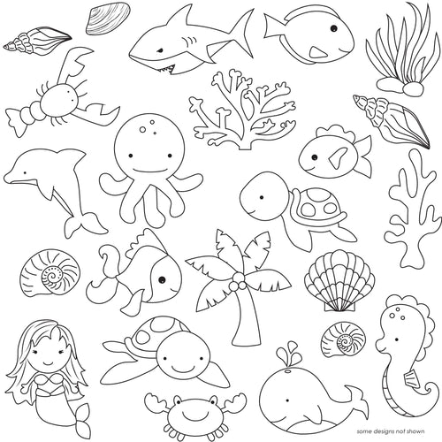 Under the Sea Pattern Sheets