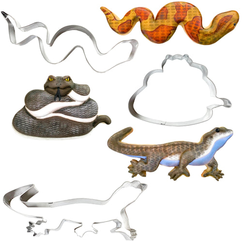 Palm Pets Reptile Cookie Cutter Set