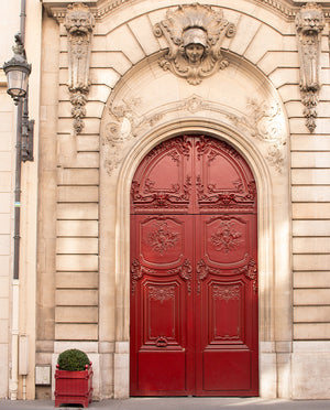 Red Door in Paris - Every Day Paris