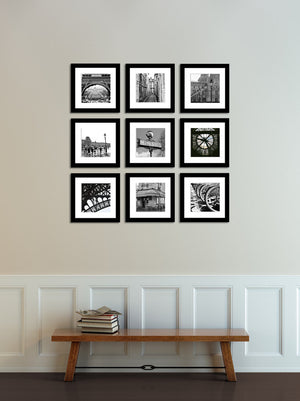 Paris in Black and White Print Set - Every Day Paris
