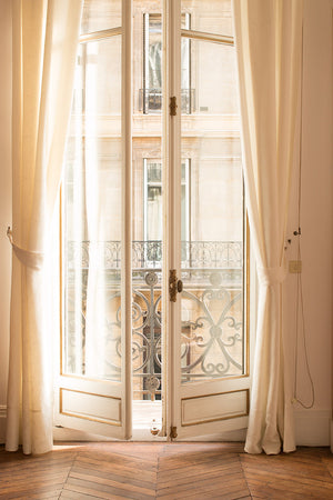 Afternoon light in the Paris Apartment - Every Day Paris