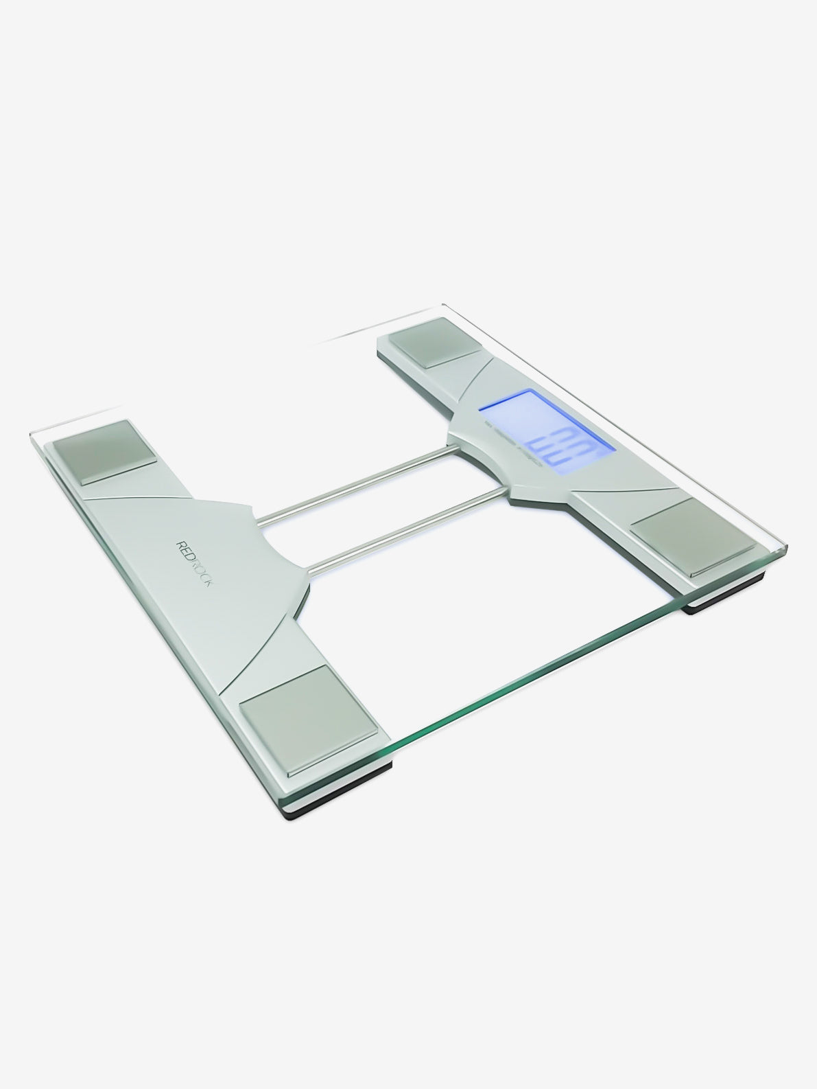 Glass Electronic Scale in Silver