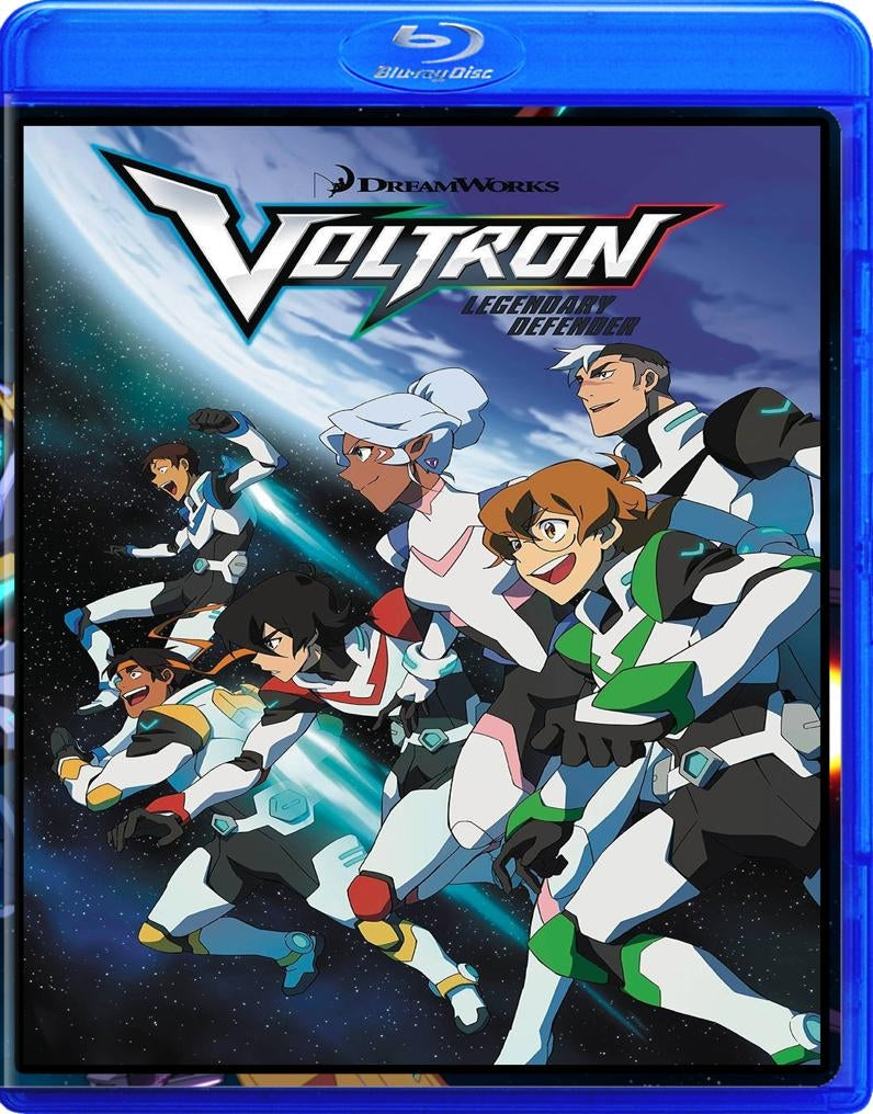 Voltron Legendary Defender in Blu-Ray™