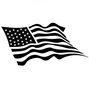 American Flag Vinyl Decal/Sticker