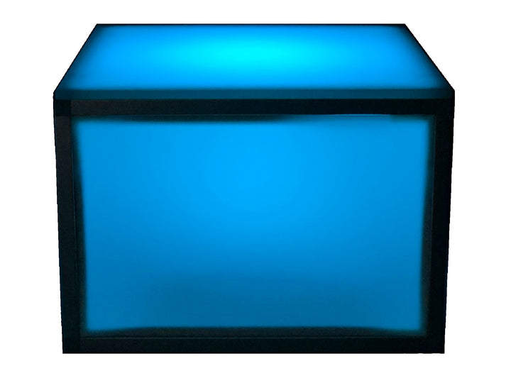 ILLUMINATED SQUARE ACCENT TABLE