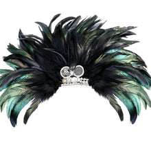 ERATO-EVENING FEATHER BROOCH