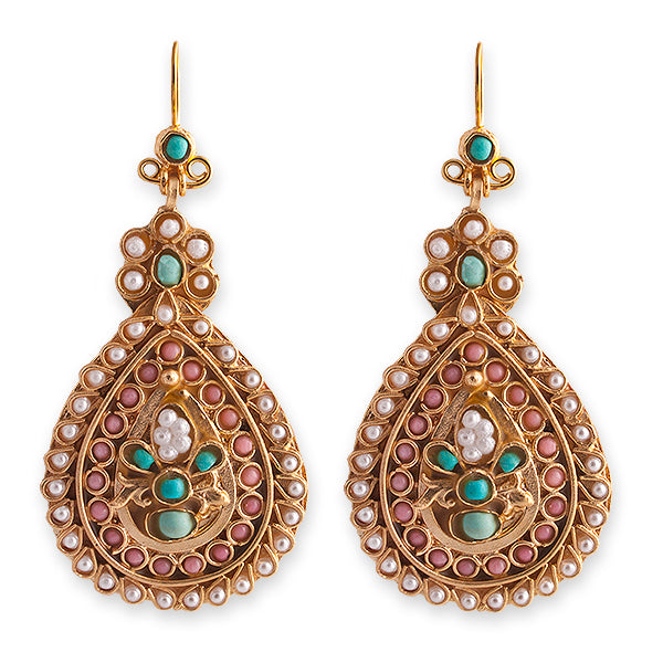 GRACE EARRINGS - BIANC BOHEME COLLECTION