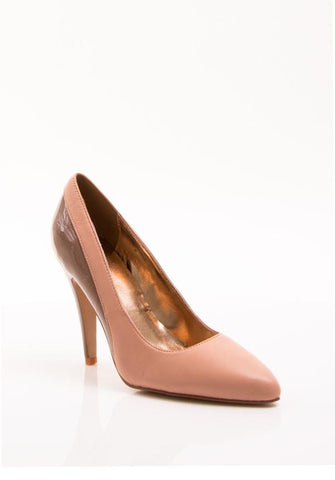 Two-Toned Bethanie Leather Pumps