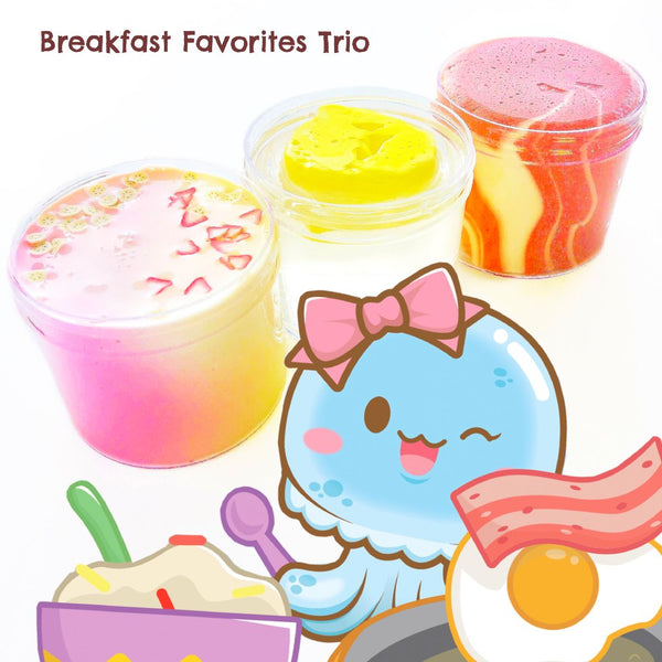 Breakfast Favorites Slime Trio
