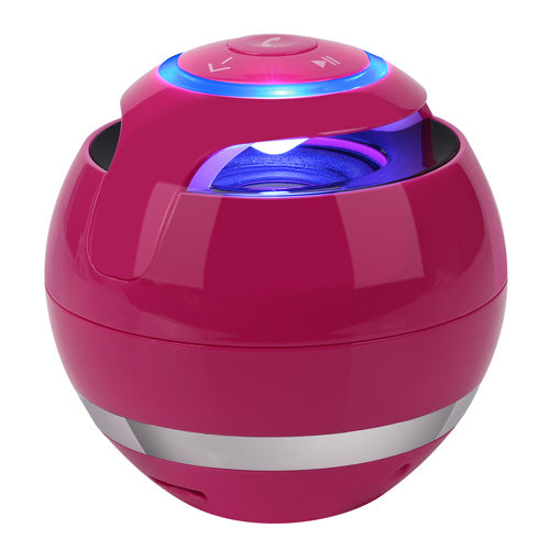 LED Portable Wireless Mini Bluetooth Speaker with Super Bass