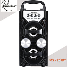 High Power Portable Bluetooth Speaker with FM Radio & TF Card