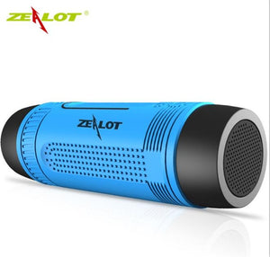 Bluetooth Speaker for Bicycle with Subwoofer Bass & LED light