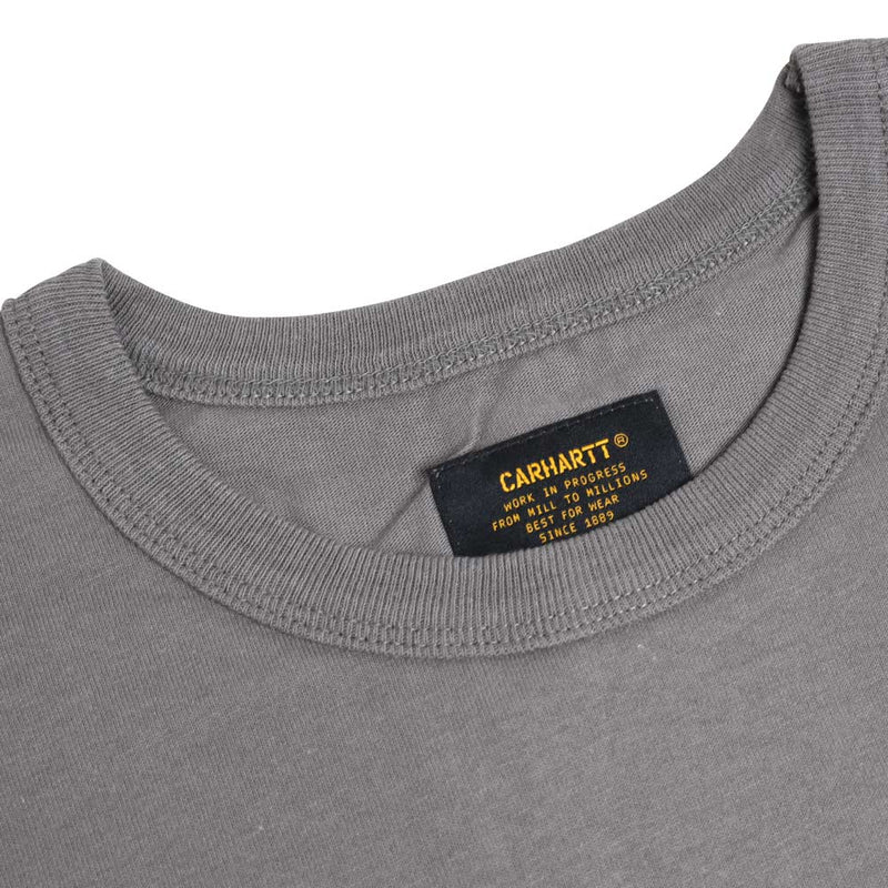Carhartt WIP Seth S/S Tee | Air Force Grey - CROSSOVER