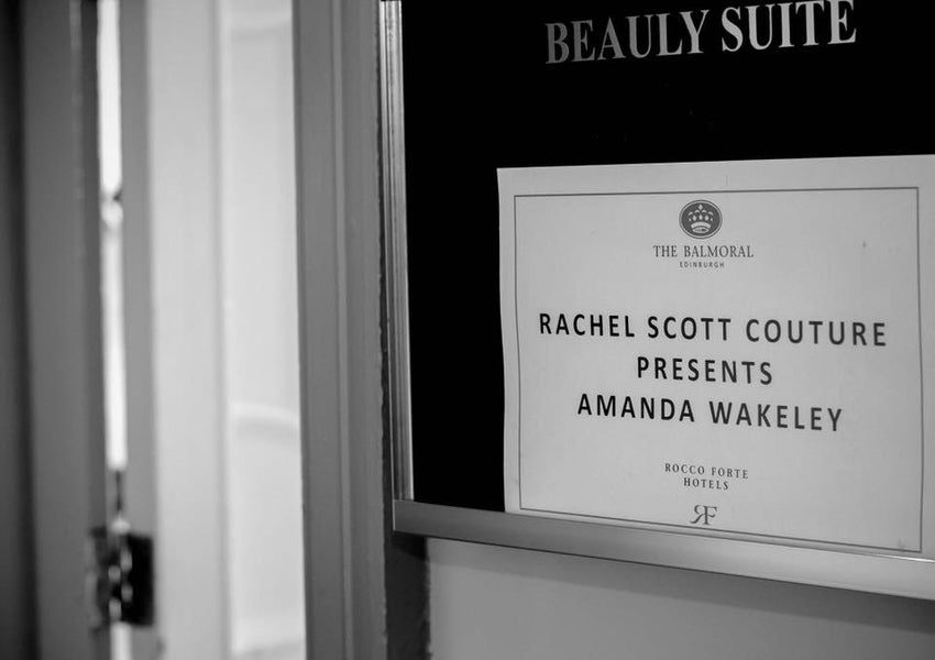When Amanda Wakeley visited Rachel Scott Couture