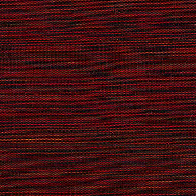 Scalamandre Wallcovering - SC 0008WP88347 - SHANTUNG GRASSCLOTH - CERISE