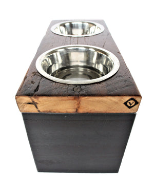 large+dog+bowl_elevated+dog+feeder_reclaimed+wood+steel+pet+bowl_large+breed+dog+bowl_vault+furniture