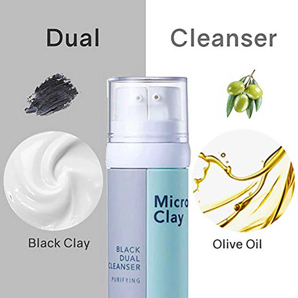 Vprove Black Dual Cleanser - Cleansing oil & Charcoal
