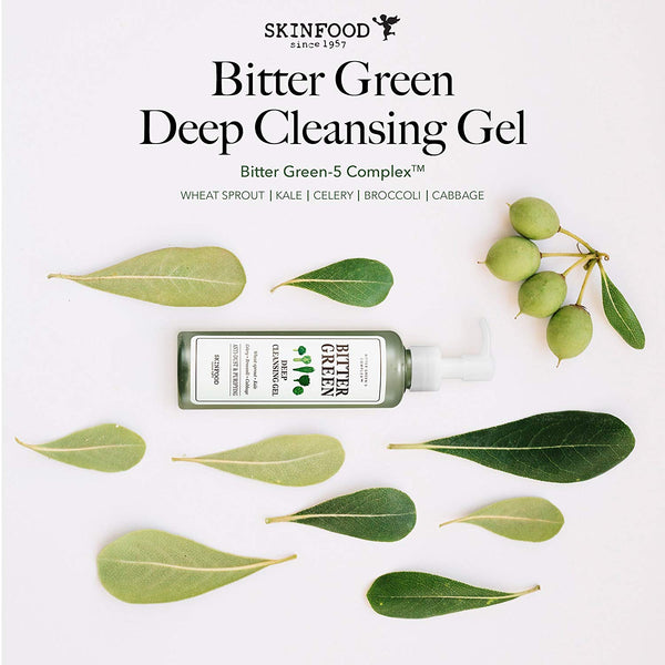 Skinfood Bitter Green Deep Cleansing Gel 200 ml (6.8 fl.oz.)