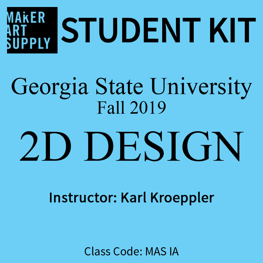 Student Kit: GSU 2D Design - Fall 2019/Kroeppler