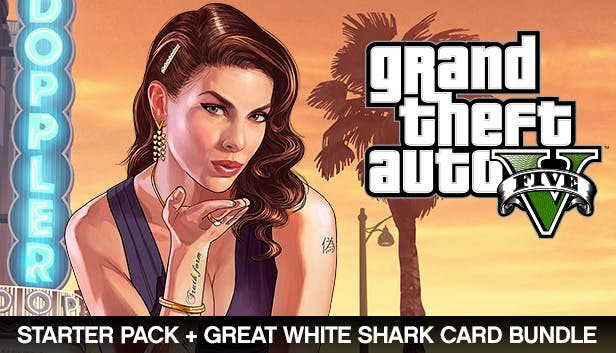 Grand Theft Auto V, Criminal Enterprise Starter Pack and Great White Shark Card Bundle