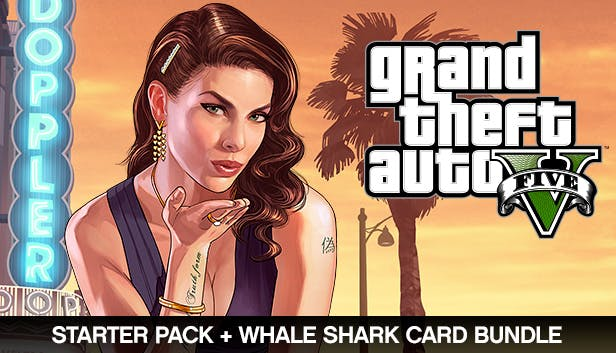 Grand Theft Auto V, Criminal Enterprise Starter Pack and Whale Shark Card Bundle