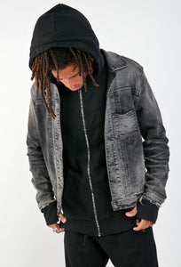 Jordan Denim Jacket | Shades of Black
