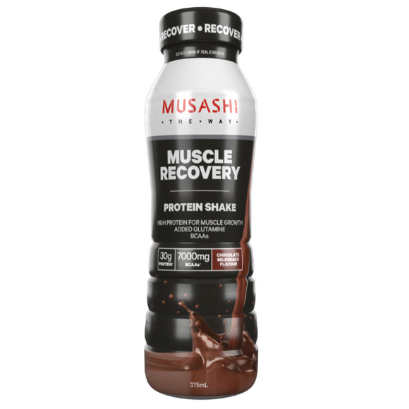 MUSASHI BOTTLES MUSCLE RECOVERY 375ML X 6