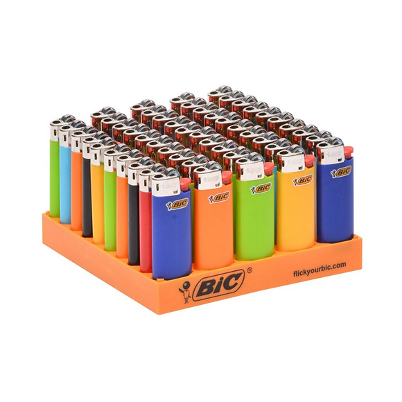 BIC SMALL LIGHTERS TRAY 50pk