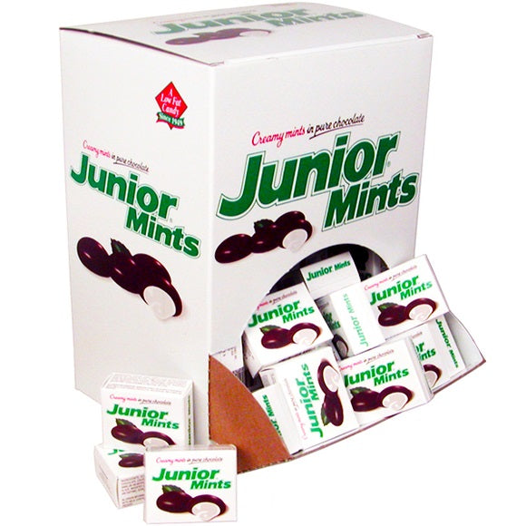 JUNIOR MINTS COUNTER X 72