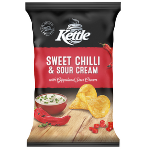 KETTLE SWEET CHILLI & SOUR CREAM 90G X 12