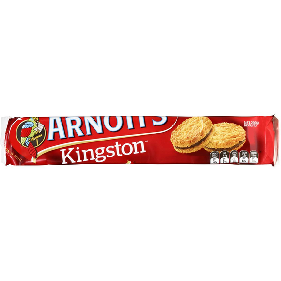 ARNOTT'S KINGSTON 200G X 20