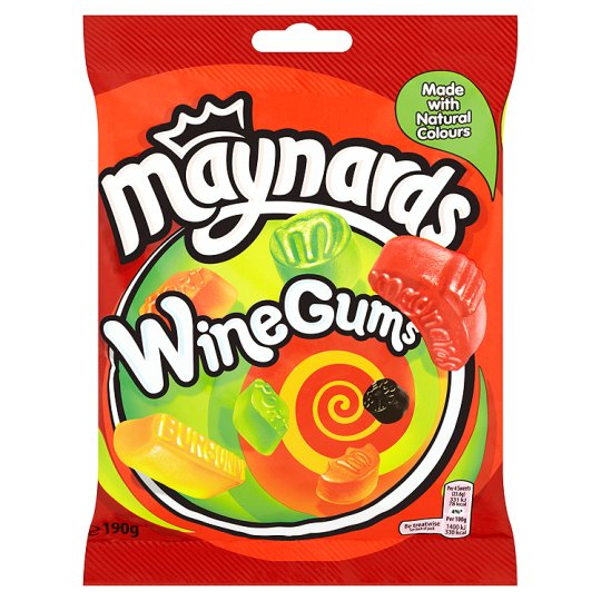 MAYNARDS WINE GUM 190G X 12