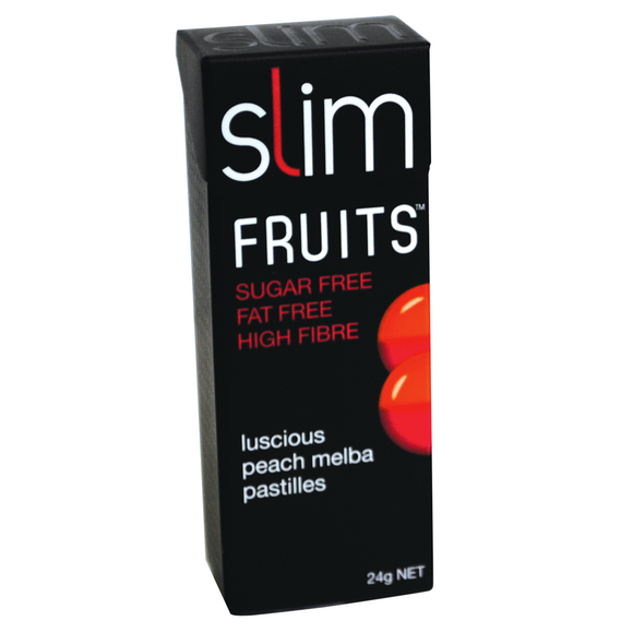 SLIM FRUITS PEACH MELBA 24G X 18