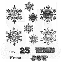 Mini Weathered Winter stamp set (Tim Holtz)