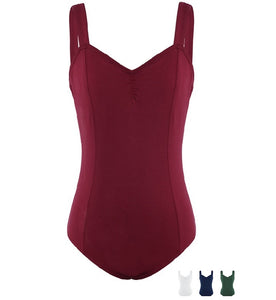 maroon womens tank leotardo
