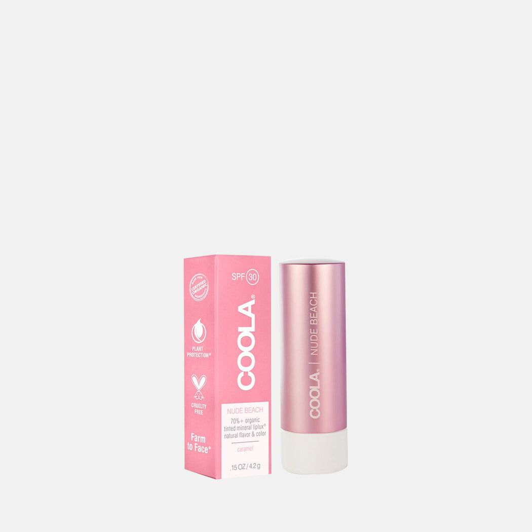 Coola Mineral Liplux SPF 30 – Nude Beach 4.2gm