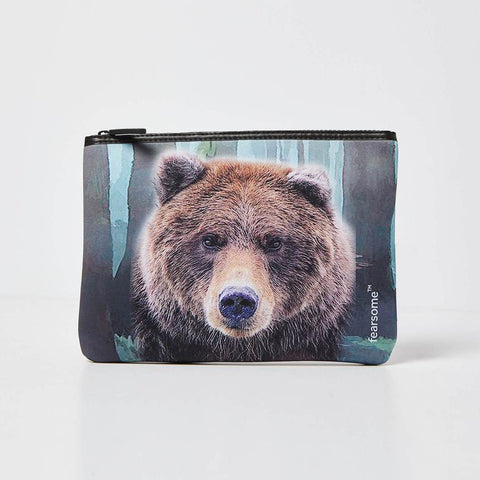 Fearsome Into The Wild Pouch/Beauty Bag - Bear