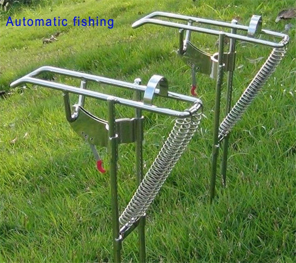 Automatic ultra elastic pole spring pole frame sea rods mount pole fishing tackle fishing tackle holder tools