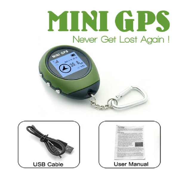 Mini Travel GPS Navigation For Camping Hiking GPS Tracker Reciever Pointing Guide Portable Outdoor Survival Tools