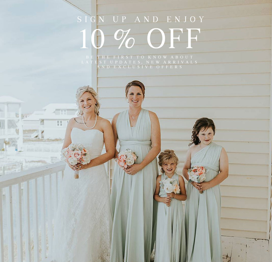 A dress for every Bridesmaid | 10% off for 1st order