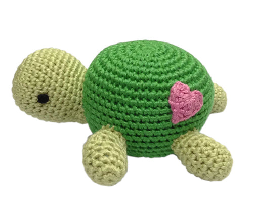 Turtle Crocheted Rattle