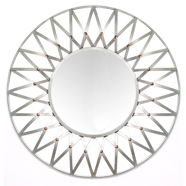 Stratton Home Decorative Nikki Wall Mirror - Silver