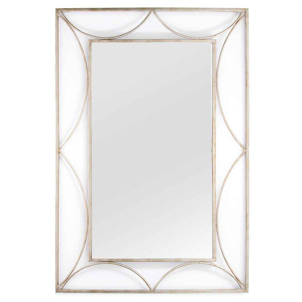 Stratton Home Decorative Anastasia Metal Wall Mirror - Silver
