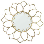 Stratton Home Decorative Handcrafted Lauren Wall Mirror - Gold