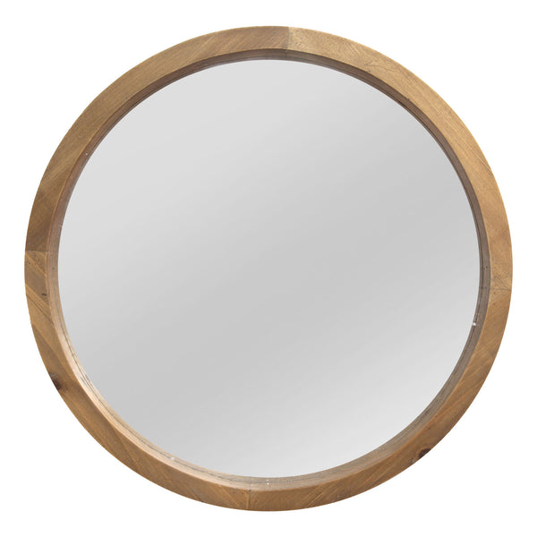 Stratton Home Decor S13562 Living Room Maddie Handmade Wood Mirror
