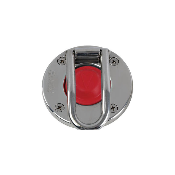 Antal Stainless Winch Switch with Protection Red
