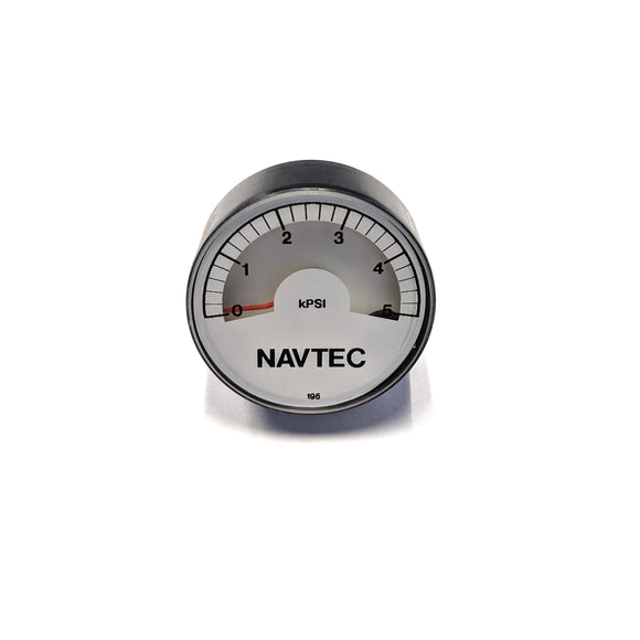 Navtec 1.5in Hydraulic Replacement Gauge for SR7 Integral and System V Panel