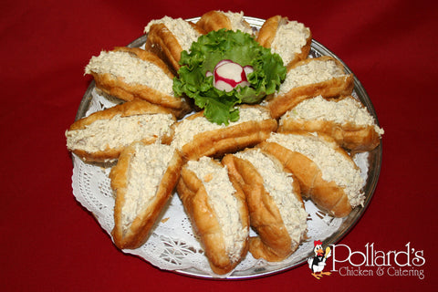 Croissants with Chicken Salad (12)