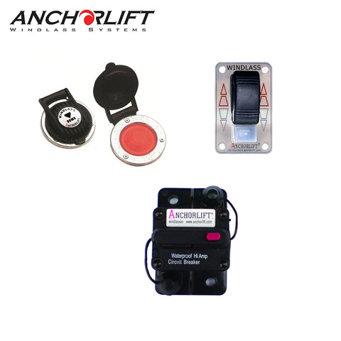 Barracuda Windlass and Combo Switch Pack Bundle