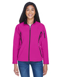 North End Ladies 3 Layer Fleece Bonded Soft Shell Jacket 78034
